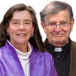 Rev. Harry Cain, S.J., LST, and Virginia Blass, D.Min.