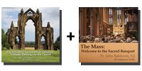 Bundle: The Universal Sacrament of Salvation + The Mass: Welcome to the Sacred Banquet - 12 CDs Total-0
