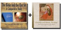 Video Bundle: The Bible and the Qur'an: A Comparative Study + Christian and Islamic Theology - 14 Discs Total-0