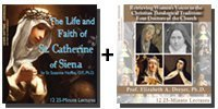 Video Bundle: The Life and Faith of St. Catherine of Siena + Retrieving Women's Voices in the Christian Theological Tradition: Four Doctors of the Church - 8 DVDs Total-0