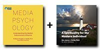 Audio/Video Bundle: Media Psychology: Understanding the Media's Subconscious Influence + A Spirituality for the Modern Individual - 11 Discs Total-0