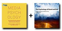 Audio Bundle: Media Psychology: Understanding the Media's Subconscious Influence + The Psychology of Good and Evil - 12 CDs Total-0
