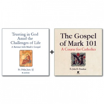 Bundle: Trusting in God Amid the Challenges of Life: A Retreat with Mark's Gospel + The Gospel of Mark - 10 CDs Total
