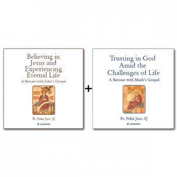 Bundle: Believing in Jesus and Experiencing Eternal Life: A Retreat with John's Gospel + Trusting in God Amid the Challenges of Life: A Retreat with Mark's Gospel - 11 CDs Total