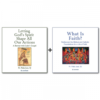Audio Bundle: Letting God's Spirit Shape All Our Actions: A Retreat with Luke's Gospel + What Is Faith? Gift, Mystery, Life - 10 CDs Total