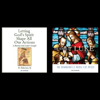 Bundle: Letting God's Spirit Shape All Our Actions: A Retreat with Luke's Gospel + The Gospel of Luke - 10 CDs Total