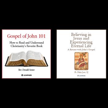 Audio Bundle: The Gospel of John + A Retreat with the Gospel of John - 10 CDs Total